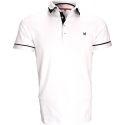 Vêtements Homme Polos manches courtes Andrew Mc Allister polo mode erwin blanc Blanc