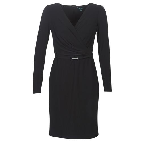 Vêtements Femme Robes courtes Lauren Ralph Lauren ALEXIE Noir