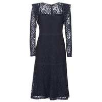 Vêtements Femme Robes courtes Lauren Ralph Lauren BLAIR Marine