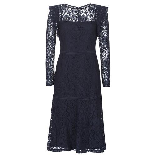 Vêtements Femme Robes courtes Lauren Ralph Lauren BLAIR Marine