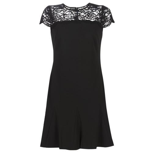 Vêtements Femme Robes courtes Lauren Ralph Lauren CALLY Noir