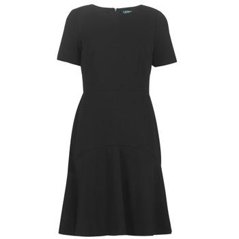 Vêtements Femme Robes courtes Lauren Ralph Lauren BABA Noir