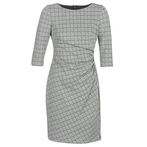 Vêtements Femme Robes courtes Lauren Ralph Lauren CIERRA Gris