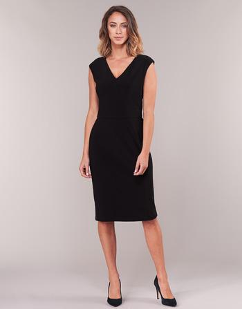Lauren Ralph Lauren BLACK CAP SLEEVE DAY DRESS
