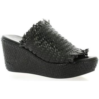 Chaussures Femme Mules Borgoroma Bgoma Mules cuir Noir