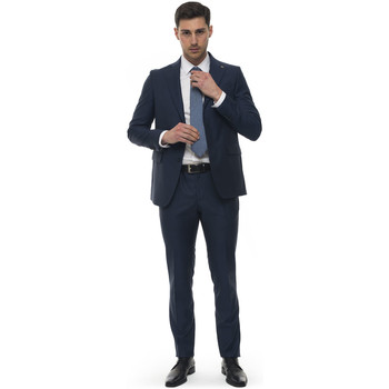 Vêtements Homme Costumes  Angelo Nardelli 90500-W115551 Blu medio