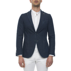Vêtements Homme Vestes / Blazers Angelo Nardelli 5440W-B169151 Denim scuro