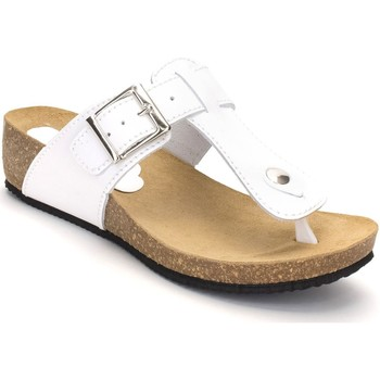 Chaussures Femme Tongs Morxiva Shoes  Blanc