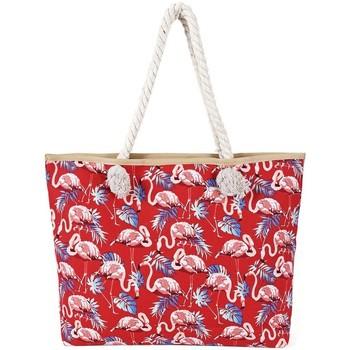 Sacs Femme Cabas / Sacs shopping Baisers Salés Sac de plage rouge