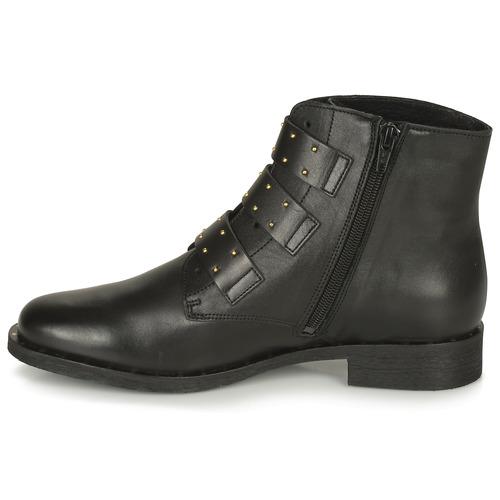 London Betty Boots Lys Femme Noir VSUzpqGM