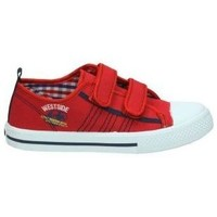 Chaussures Enfant Baskets basses Katini KFY12550 rouge