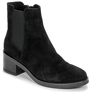 Chaussures Femme Bottines Casual Attitude LILOO Noir