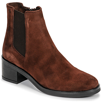 Chaussures Femme Bottines Casual Attitude LIOO Camel