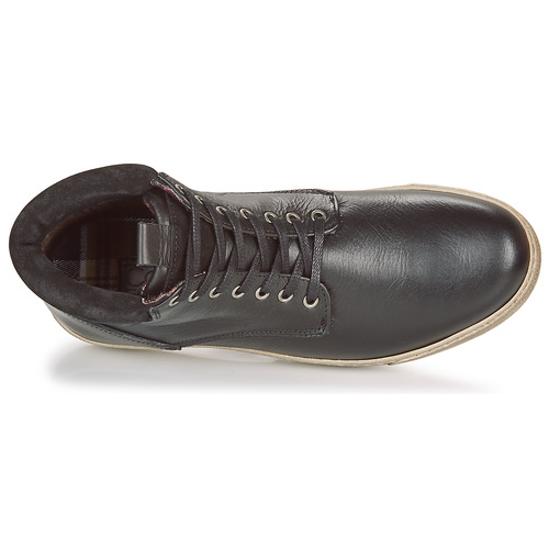Attitude Noir Homme Casual Leo Chaussures Boots 9IEDH2YeWb