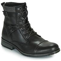 Chaussures Homme Boots Casual Attitude RIVIGH Noir