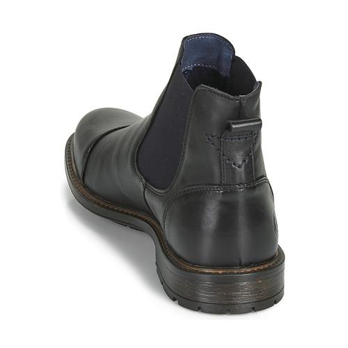Jandy Homme Chaussures Casual Attitude Noir Boots 54LR3Aj