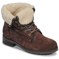 Chaussures Femme Boots Casual Attitude LEILA Marron