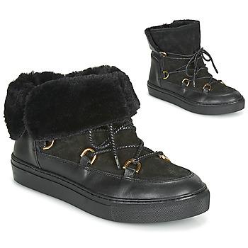Chaussures Femme Bottes de neige Casual Attitude LONE Noir