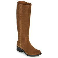 Chaussures Femme Bottes ville Casual Attitude LOUNA Taupe