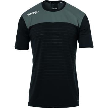 Vêtements T-shirts manches courtes Kempa T-shirt  Emotion 2.0 noir/gris