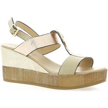Chaussures Femme Sandales et Nu-pieds Repo Nu pieds cuir Taupe
