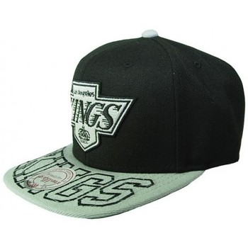 Accessoires textile Casquettes Mitchell And Ness Snapback KINGS Los Angeles Noir/ Gris Visor Hit Noir