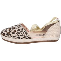 Chaussures Femme Espadrilles O-joo sandales toile beige