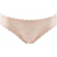 Sous-vêtements Femme Strings Aubade rosessence tanga d'été Nude