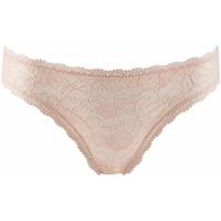 Sous-vêtements Femme Culottes & slips Aubade rosessence slip italien d'été Nude