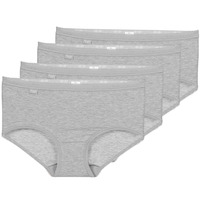Sous-vêtements Femme Culottes & slips Sloggi BASIC+ X 4 Gris