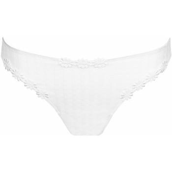 Sous-vêtements Femme Strings Marie Jo string avero Blanc