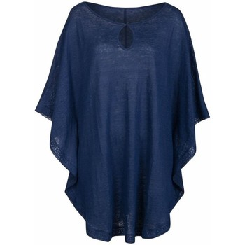 Vêtements Femme Maillots de bain 1 pièce Anita rosa faia tunique de plage en lin mahe Midnight Blue
