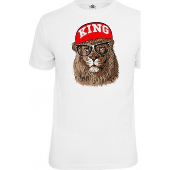 T-shirts manches courtes Mister Tee T-shirt  Blanc King
