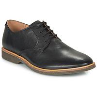 Chaussures Homme Derbies Clarks ATTICUS LACE Noir