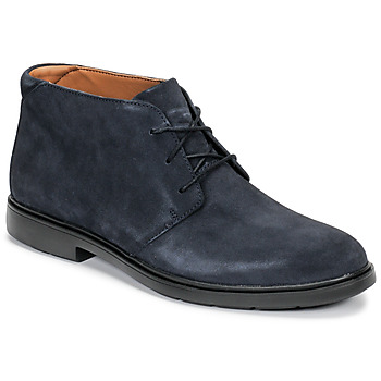 Chaussures Homme Boots Clarks UN TAILOR MID Marine