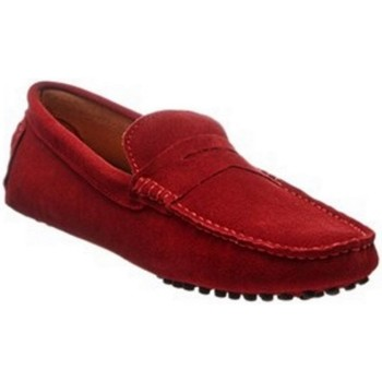 Chaussures Homme Mocassins Carla Samuel T01 Rouge