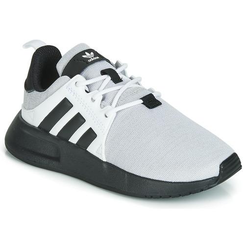 Chaussures Enfant Baskets basses adidas Originals X_PLR C Gris / Noir