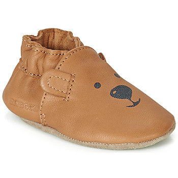 Chaussures Enfant Chaussons bébés Robeez SWEETY BEAR Camel