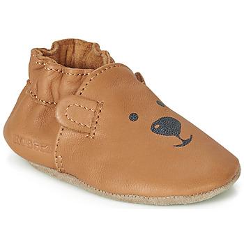 494e4b908b2a67 Chaussures Enfant Chaussons bébés Robeez SWEETY BEAR Camel