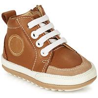 Chaussures Enfant Baskets montantes Robeez MIGO Cognac