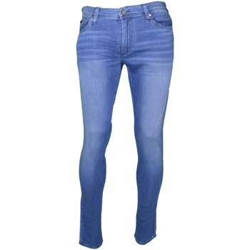 Jeans Armani Jean Exchange bleu skinny 5 poches pour homme