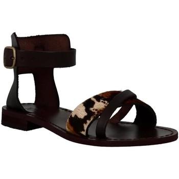 Chaussures Femme Sandales et Nu-pieds Iota 974 chocolat