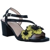 Chaussures Femme Sandales et Nu-pieds Dansi 1260 Sandalias con Tacón de Mujer Noir