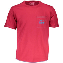Vêtements Homme T-shirts manches courtes Gas GATS01TROPIC AB30 ROUGE TROPICAL RED