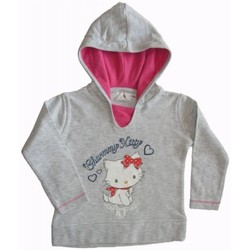 Vêtements Enfant Sweats Charmmy Kitty Sweat à capuche Gris