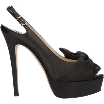 Chaussures Femme Sandales et Nu-pieds Luciano Barachini 8564 Noir