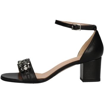 Chaussures Femme Sandales et Nu-pieds Soffice Sogno E9445C NOIR