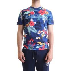 Vêtements Homme T-shirts manches courtes Napapijri N0YIFO T-Shirt/Polo homme multicolore multicolore