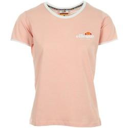 Vêtements Femme T-shirts manches courtes Ellesse EH F TMC COL ROND UNI ROSE
