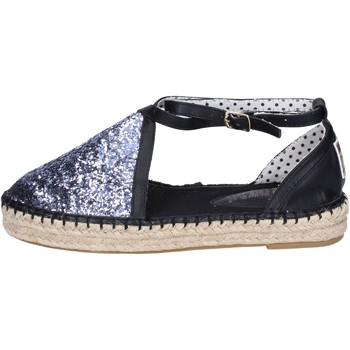 21a4129e24c4e Chaussures Femme Espadrilles O-joo sandales glitter argenté